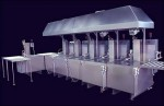 Automated 6-Stage Wash-Rinse-Passivate-Rinse-Rinse-Dry For Aerospace Customer