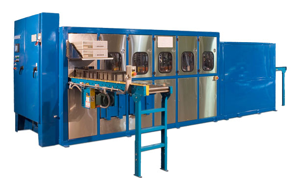 Automated Enclosed Immersion Parts Washer