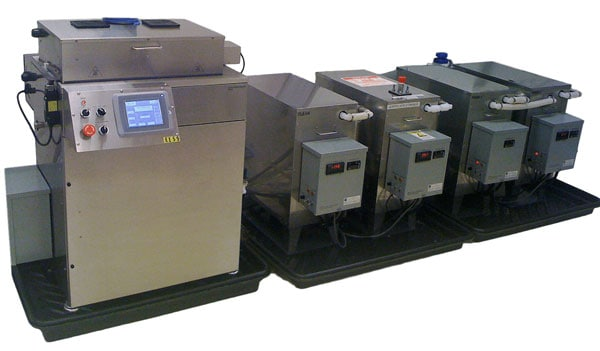 Automated Ultrasonic Parts Cleaner Washer