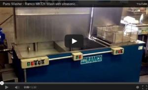CNC Machine Tool Shop Parts Washer