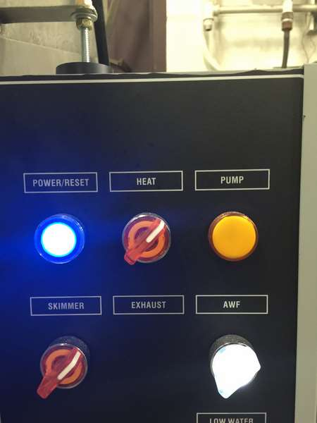 Department-of-transportation-spray-parts-washer-control-panel