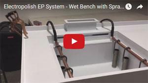 Electropolishing Wet Bench Video