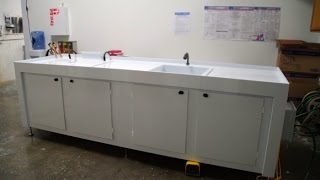 Electropolishing EP System Wet Bench with Spray Rinse Tank