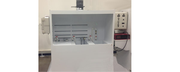 Enclosed Vented Wet Bench Passviation Hood