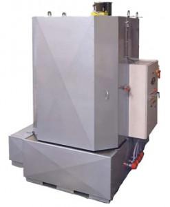 Powder Coat Prep Front Load Spray Cabinet Pressure Washer