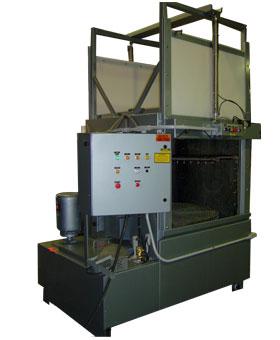 Guillotine-Vertical-Door-Spray-Cabinet-Parts-Washer