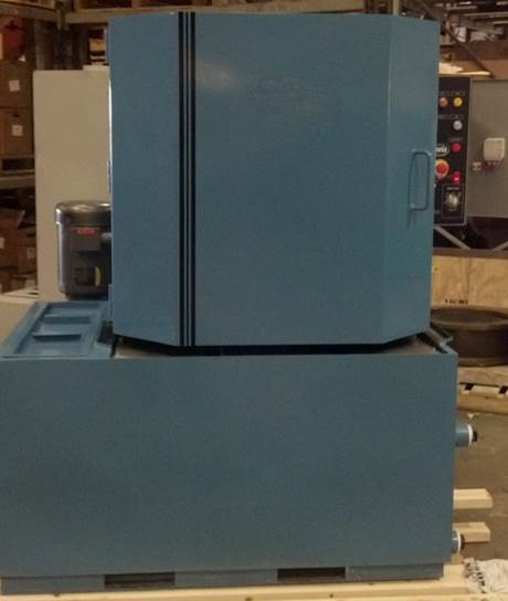 Pelletizer Die Cleaning Spray Cabinet Parts Washer Front View