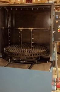 Pelletizer Die Cleaning Spray Cabinet Parts Washer Inside Spray Manifold