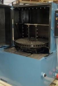 Pelletizer Die Cleaning Spray Cabinet Parts Washer Inside Die Spray Manifold