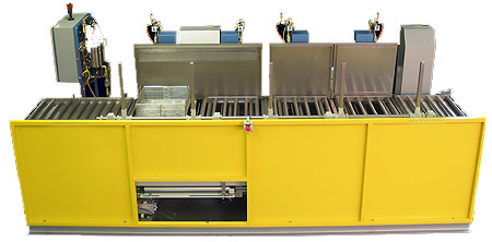 Automated Multi-Stage Ultrasonic Parts Washer