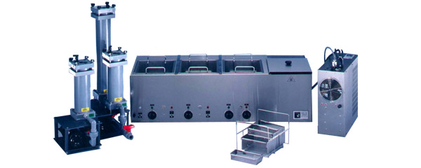 Tabletop Multi-Tank Ultrasonic Passivation System