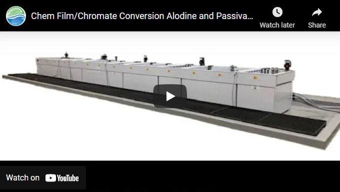 Alodine Chem Film Chromate Conversion 14-Tank Line