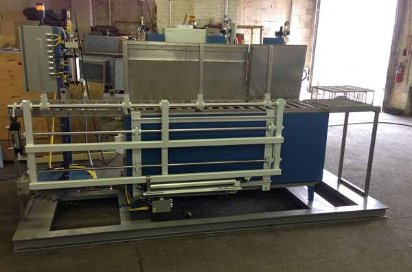 Automated immersion parts washer