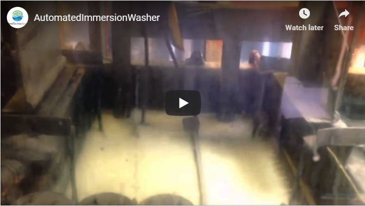 Automated Immersion Washer