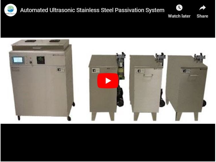 Medical Device Passivation | Automated Ultrasonic Cleaning Machine