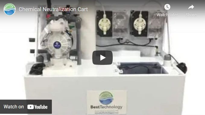 Chemical Neutralization Cart for Industrial Wastewater Treatment