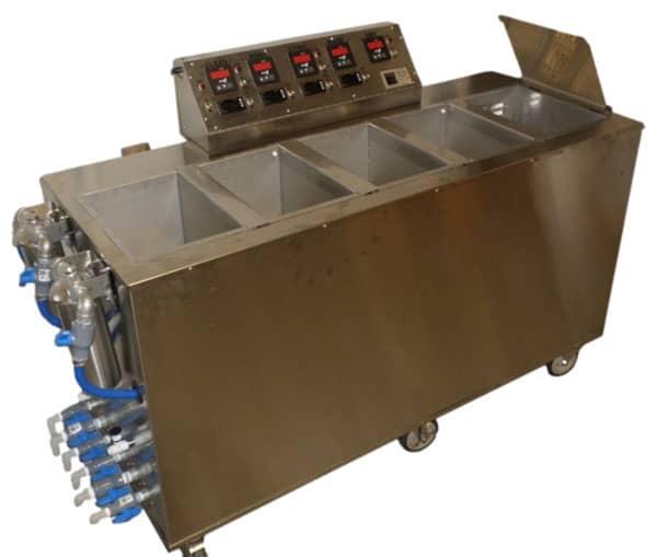 Ultrasonic Passivation Console / Wet Bench