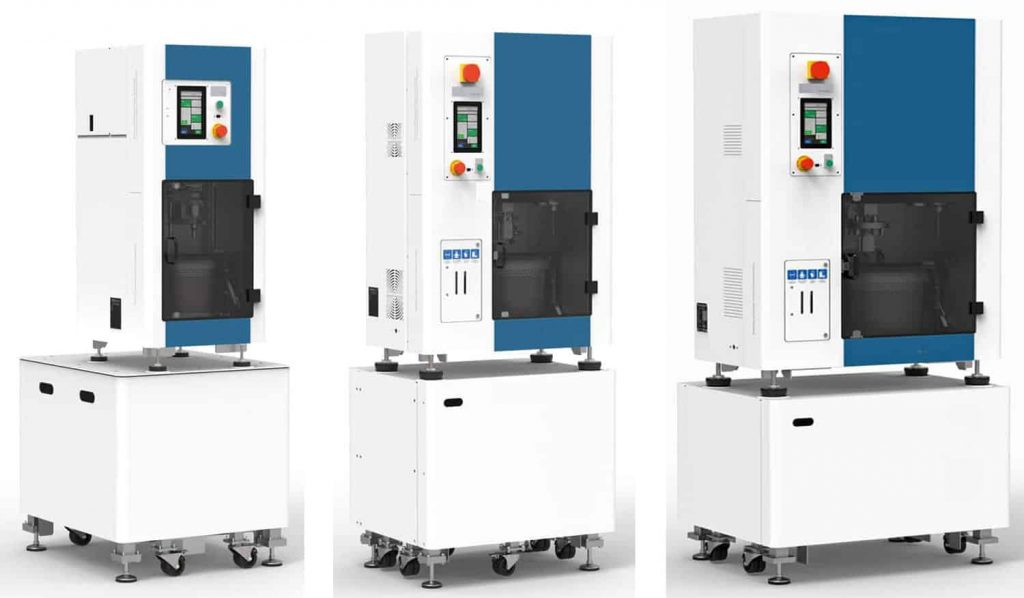 Dry Electropolishing Machines Compact Series 1H 10H 100H
