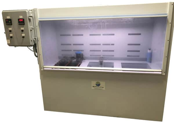 Fume Hood for Wet Chemical Processing - Electropolishing