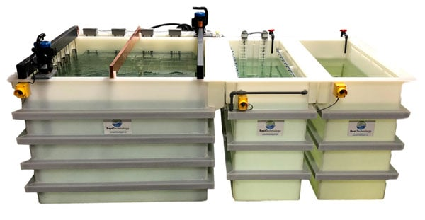 Electropolishing system for stainless steel - large scale