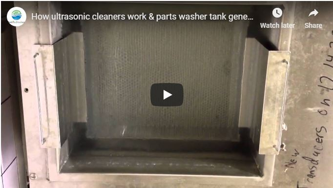 How ultrasonic cleaners work