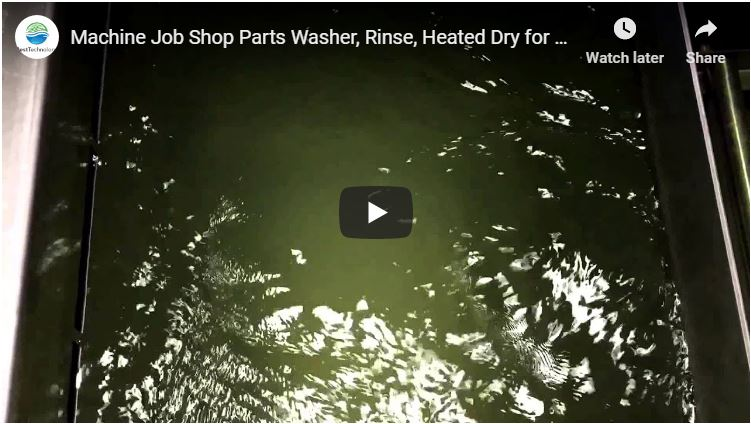 Job Shop Parts Washer