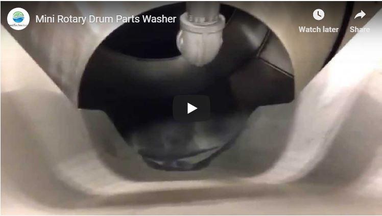 Mini Rotary Drum Parts Washer