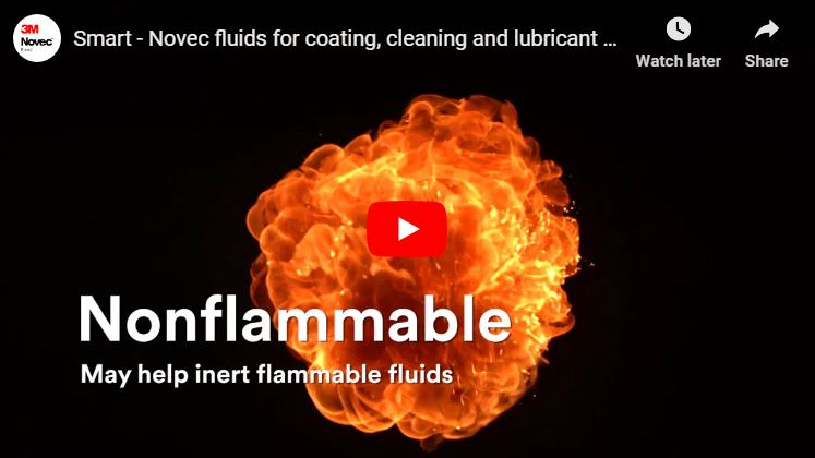 Novec fluids for coating, cleaning & lubricant formulations