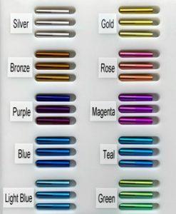 Titanium Anodize Colors