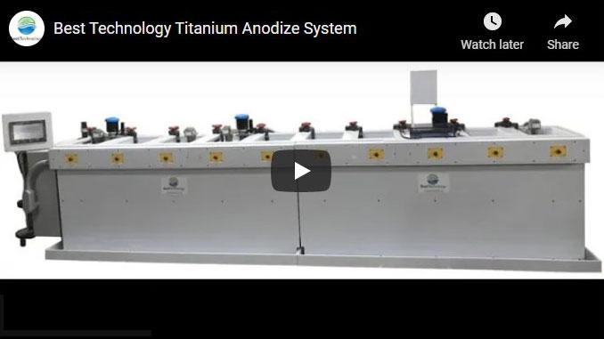 Titanium Anodize System