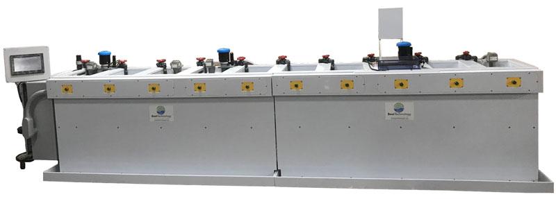 Titanium anodizing tank line equipment