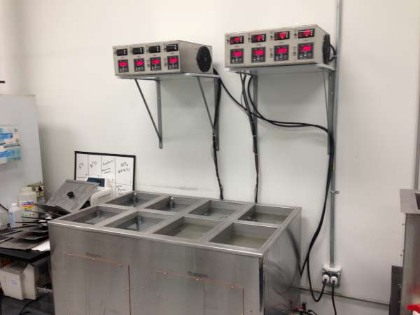Ultrasonic wash rinse passivate console
